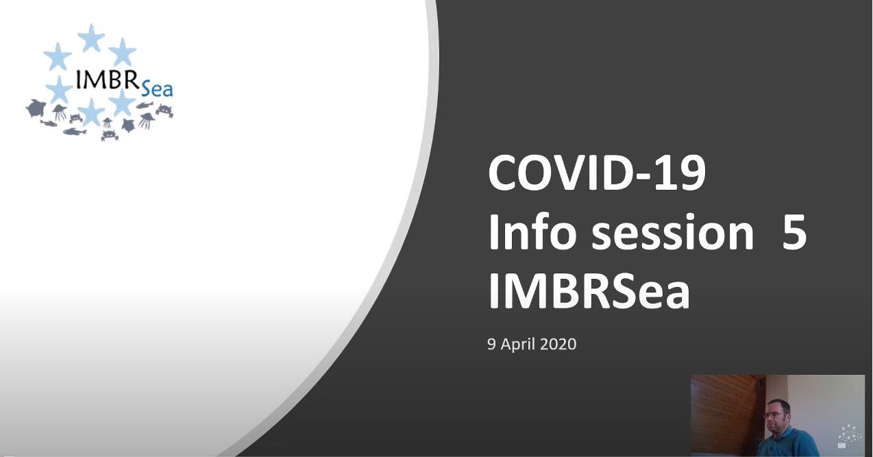 IMBRSea COVID19 - Webinar 5